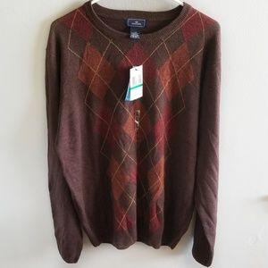 Dockers Mens Large Long Sleeve Sweater